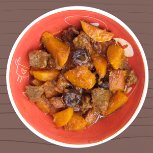 Kadoo Halva Khoresh Persian Butternut Squash Stew