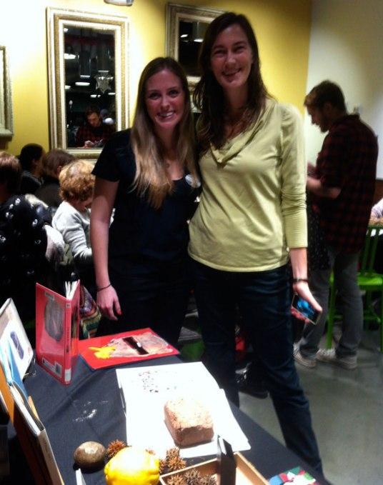 Stephanie of Whole Foods & Abby of Arts Gowanus