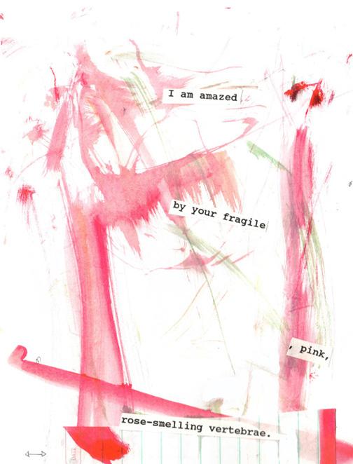 Collage azita houshiar mixed media